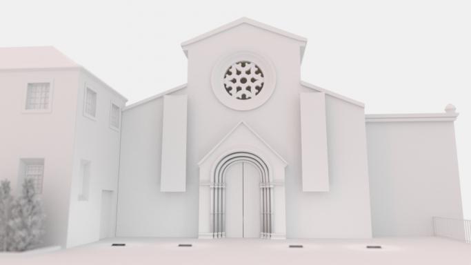 Convento de S. Francisco Render Sem Materiais