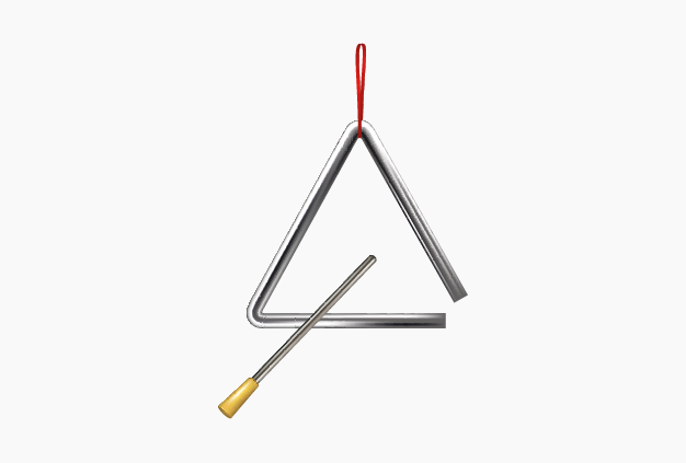 Triângulo. Aplicação Música 6.